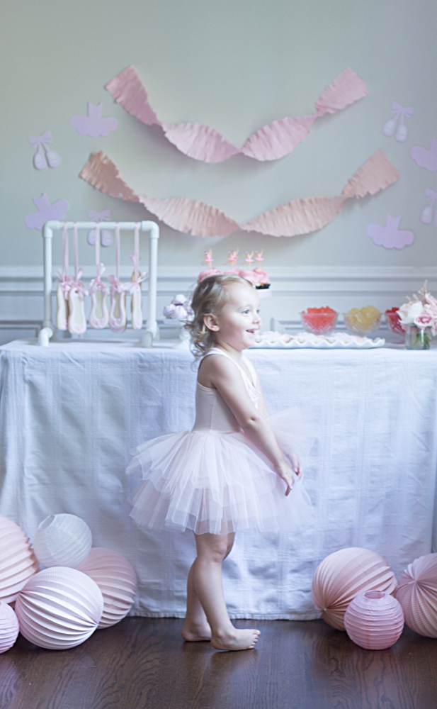Ballerina Birthday Party So Dressed Up