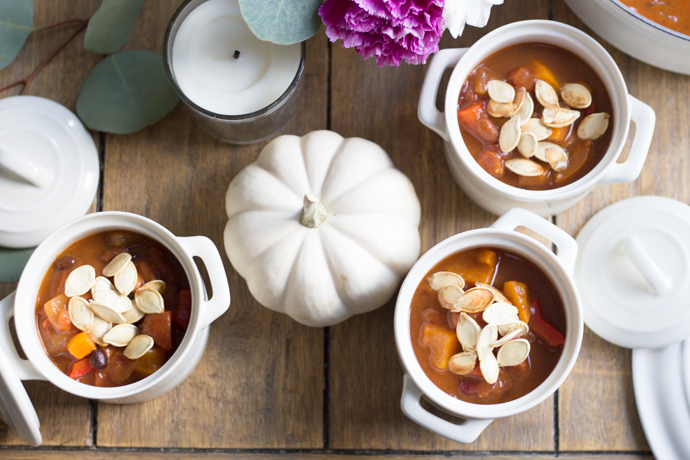 So Dressed Up Vegetarian Pumpkin Chili (15 of 32).jpg
