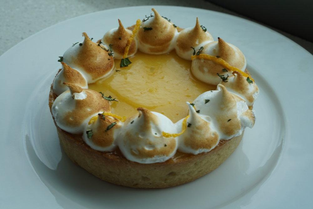 Passion fruit tart @Vive La Tarte