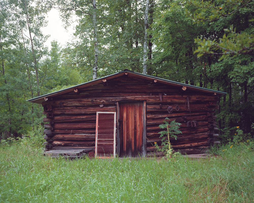 Uncle Howard's Cabin, now used for storage
