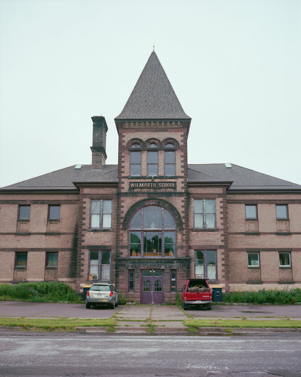 My grandmother's elementary school, now converted into an apartment building