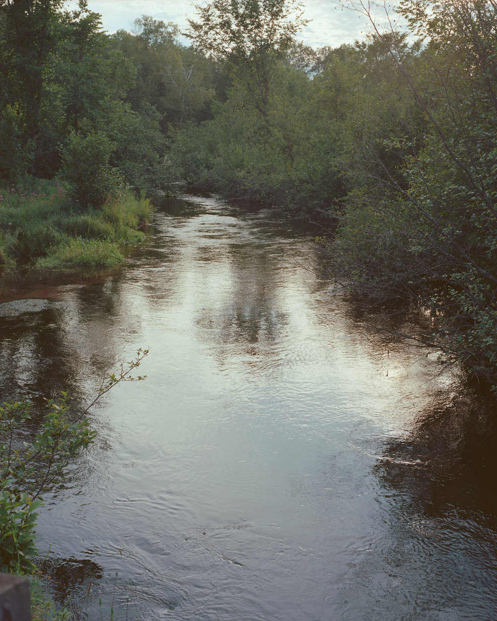Pike Creek where my grandmother used to go fly fishing with her father
