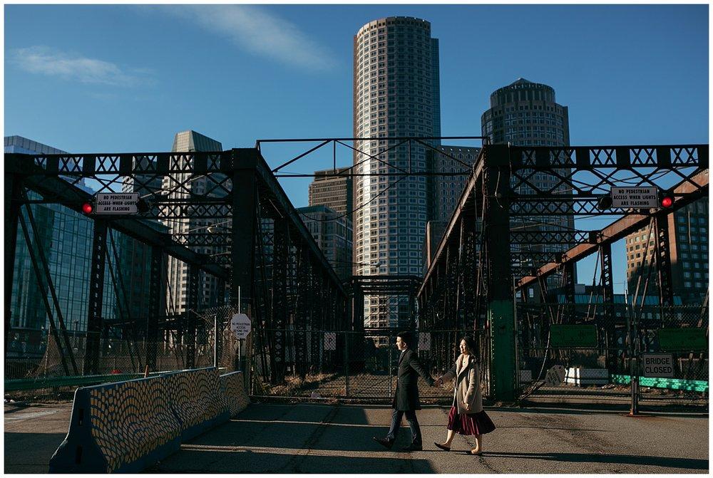 industrial Brooklyn engagement photos