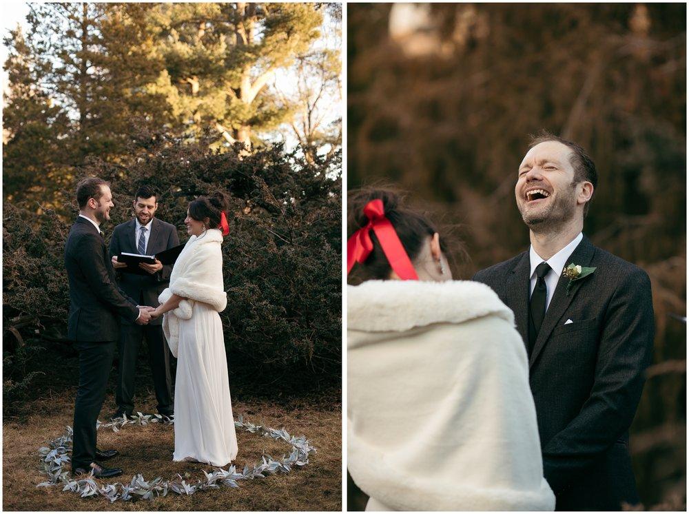 Arboretum wedding Boston