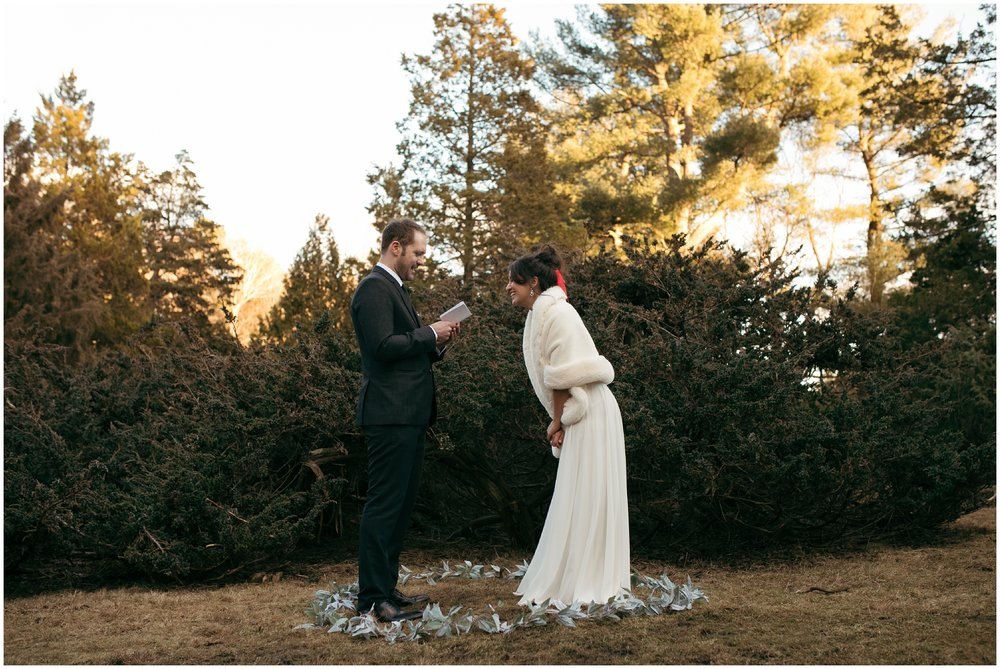 elopement in the woods