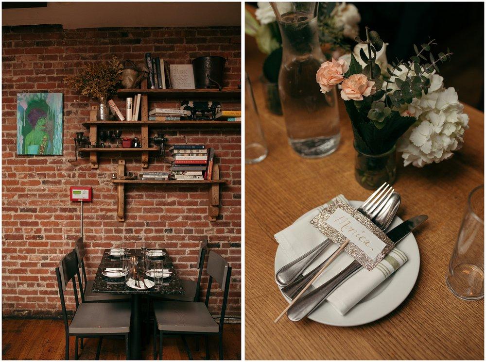 Boston restaurant wedding venue