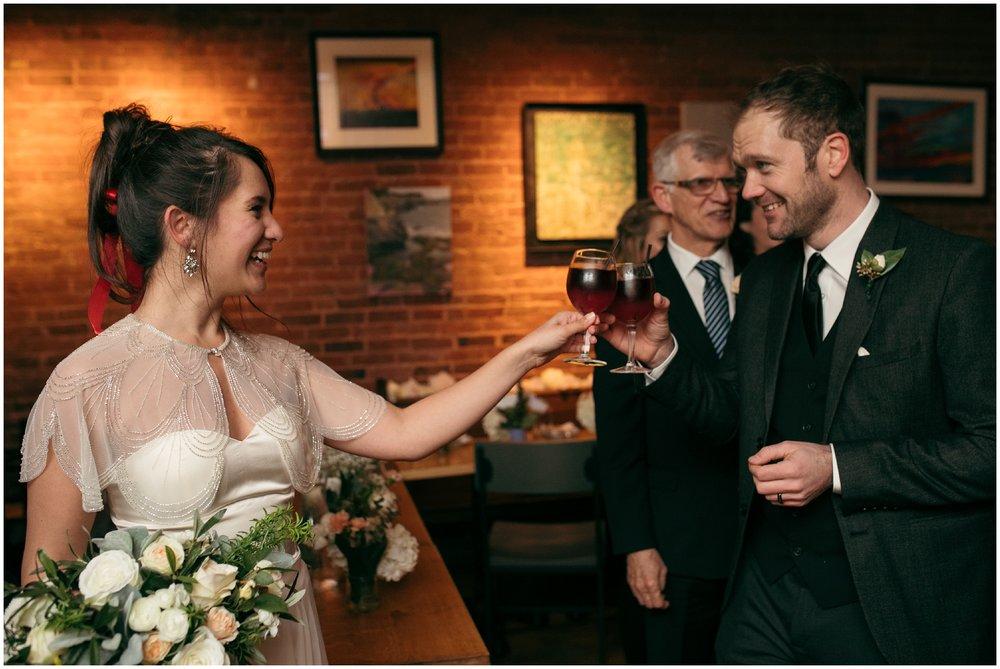 Brooklyn restaurant wedding reception