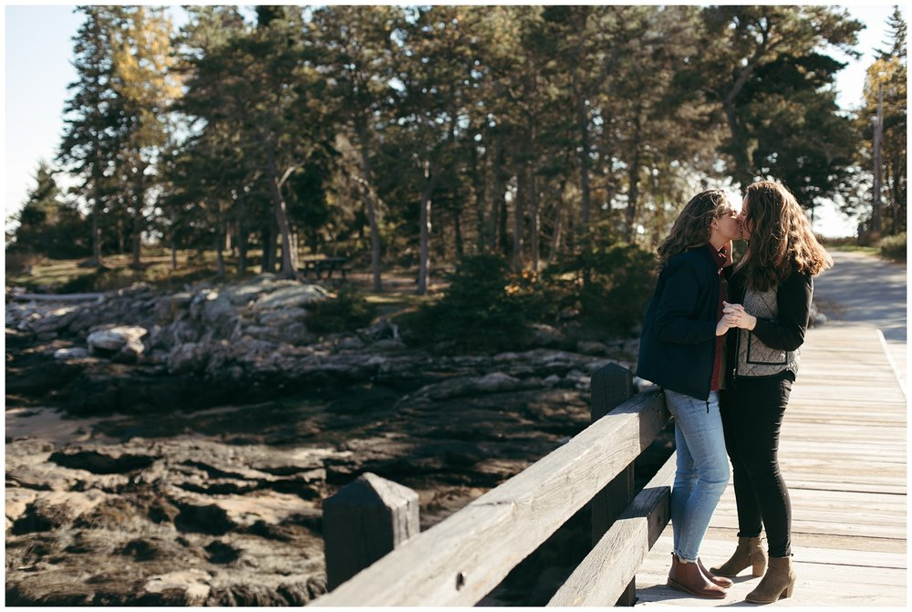 Portland, Maine engagement