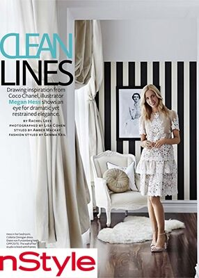 INSTYLE- MEGAN HESS