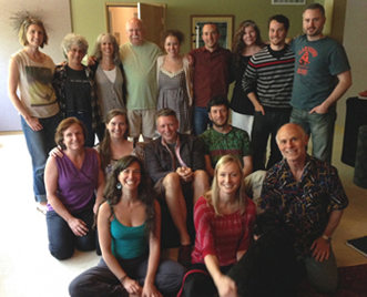 2013-2014 One Year BP & GT trainees with Eva, Steve & Metta