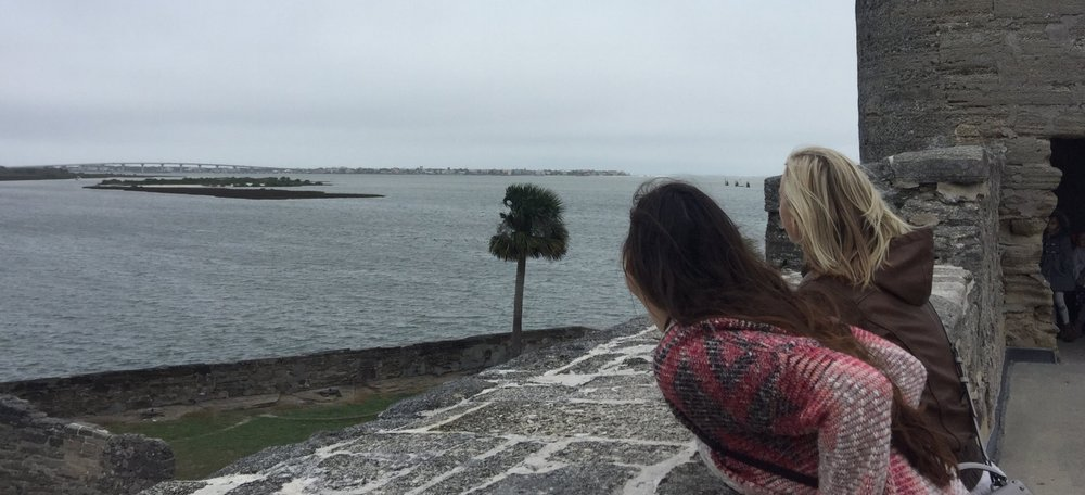 Views from the Castillo De San Marcos National Monument