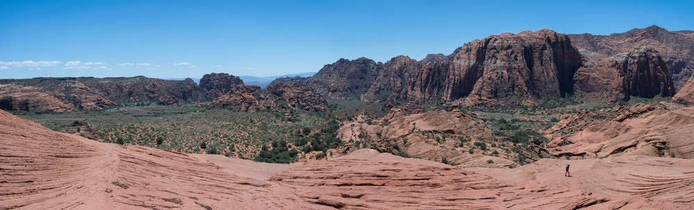 Panoramic of Snow Canyon by Blake Lyle Photography.
