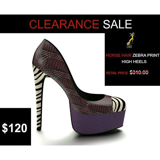 Hey Stiltsaholics!!! We have a big CLEARANCE SALE on one high heels shoe that is a one of a kind design. The retail price is $310.00 and NOW IT'S $120.00. Only one size 9 available last pair. If you are a size 9 purchase today this will not last long. Go To our Facebook Shop  #stiltsshoes #stiltsaholics #stiltslookbook #stiltsshoescollection #shoeporn #springsandals #nyfw #custommadeshoedesign #uk #ukfashion #milanfashion #milan #fashionkilla #stiltsaholics #sale #clearancesale #blowoutsale #deals