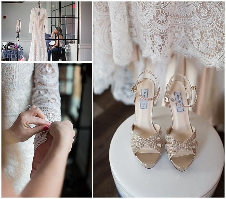 Bowery Palm Beach Wedding Inspiration Wedding Dress