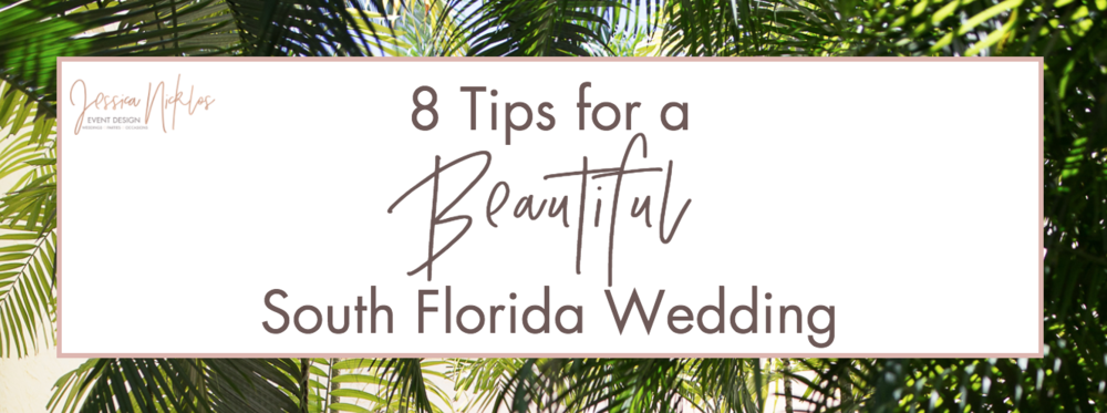 Tips for a South Florida Wedding Header