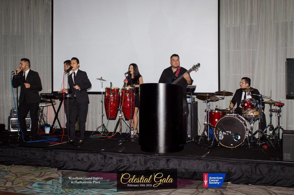 American Cancer Society Gala North Palm Beach Havana Nights Band