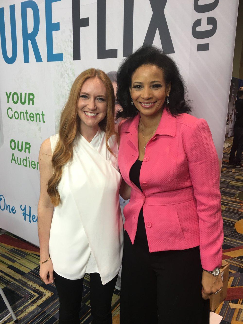 Lauren Green (left) of Hobby Lobby and Lauren Green