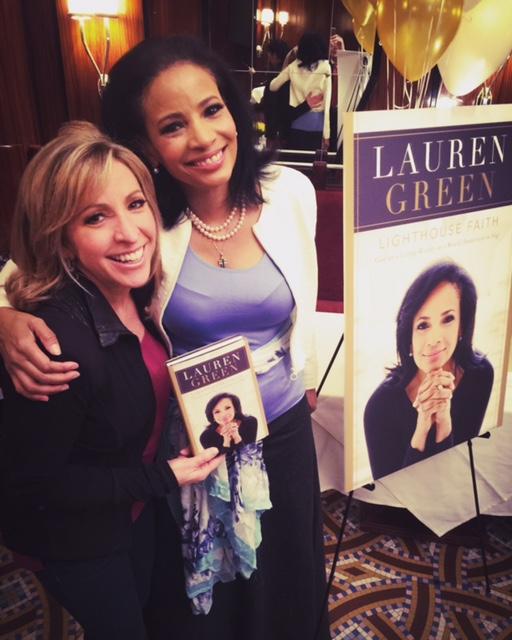 Fox correspondent/ Anchor, Laura Ingle (Right)
