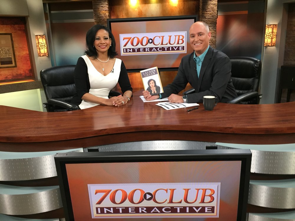 With Andrew Know at 700 Club Interactive