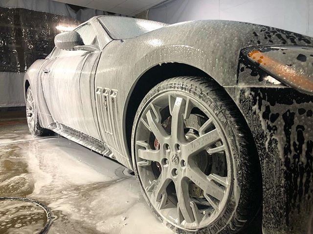 Foam bath 🛁