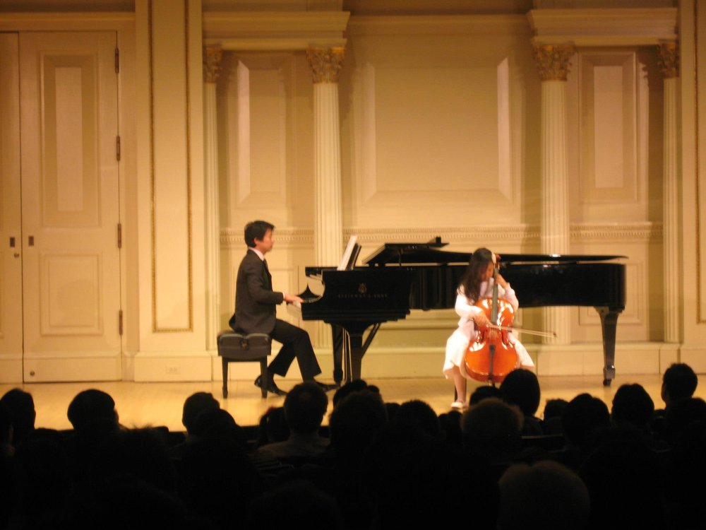 Sophia at Carnegie Hall