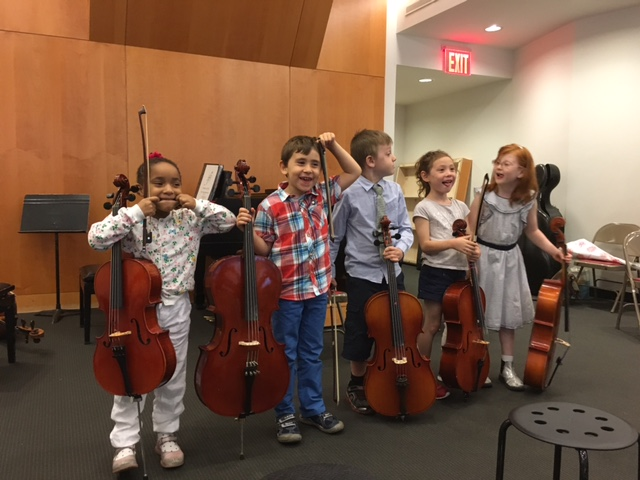 Cello Group Class at School for Strings NYC 2016