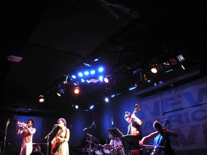 Le Poisson Rouge, NYC with Meklit Hadero