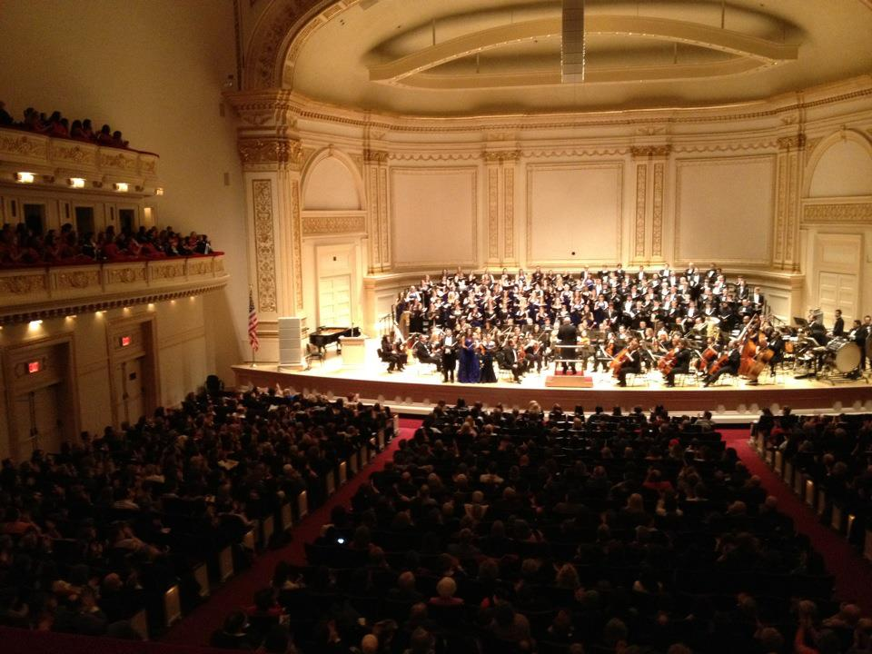 Carnegie Hall with DCINY