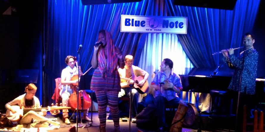 Blue Note, NYC, Soundcheck with Imani Uzuri