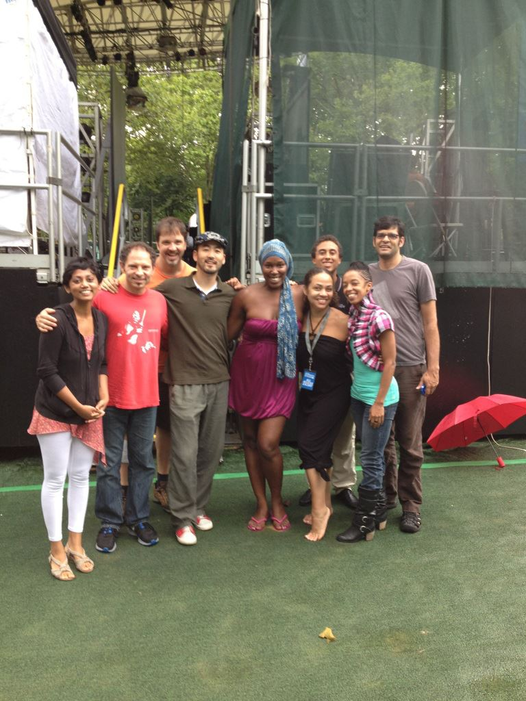 Central Park SummerStage, Soundcheck with Imani Uzuri