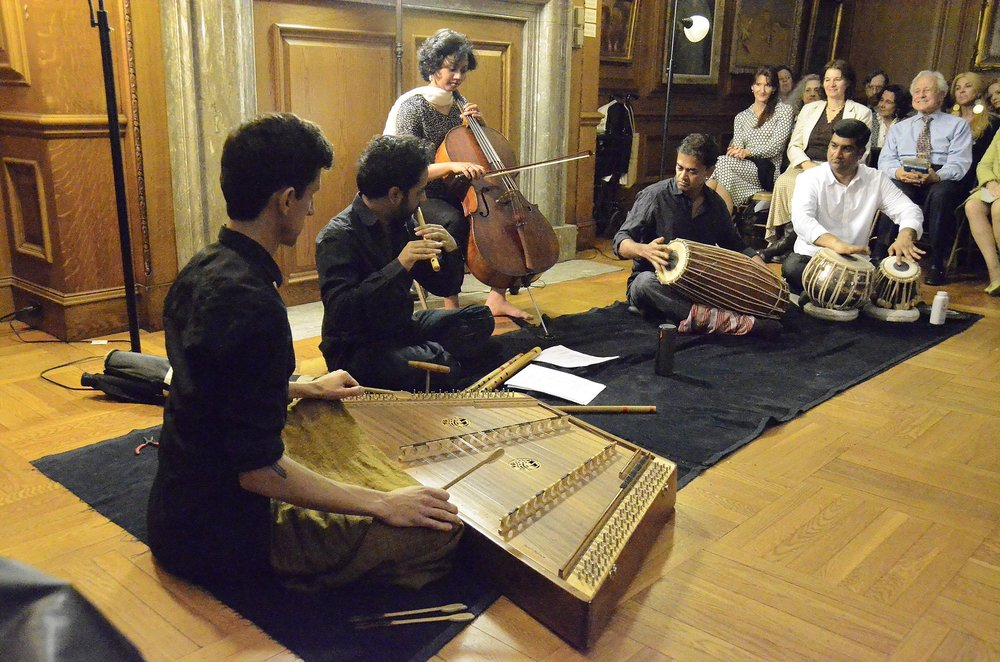 Akshara Ensemble at Lyric Chamber Music Society of NY 2015