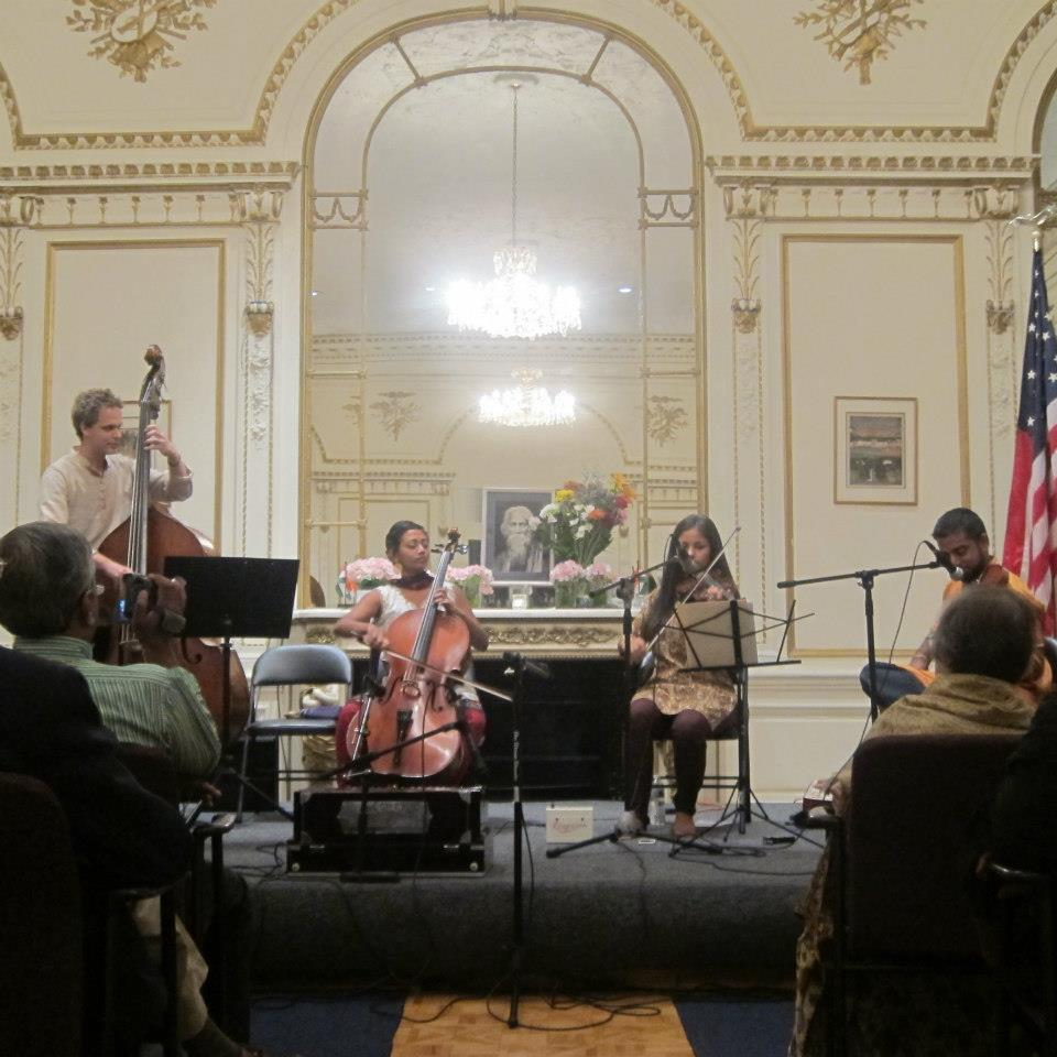 Karavika at the Indian Consulate, Tagore Concert, NYC