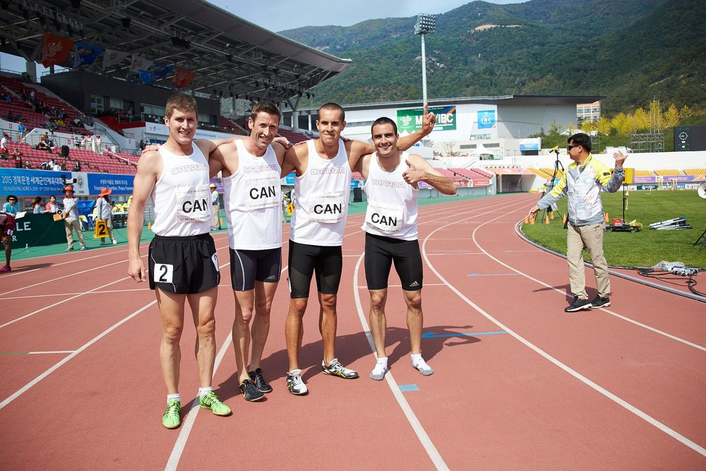 Canadian Mens 4 x 400m Relay Team.jpg