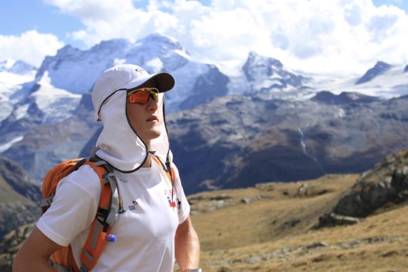 Matt near the Matterhorn near Zermatt, Switzerland.