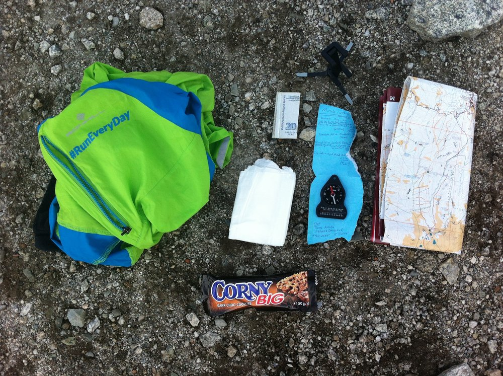 Everything I Carried Up Musala Peak