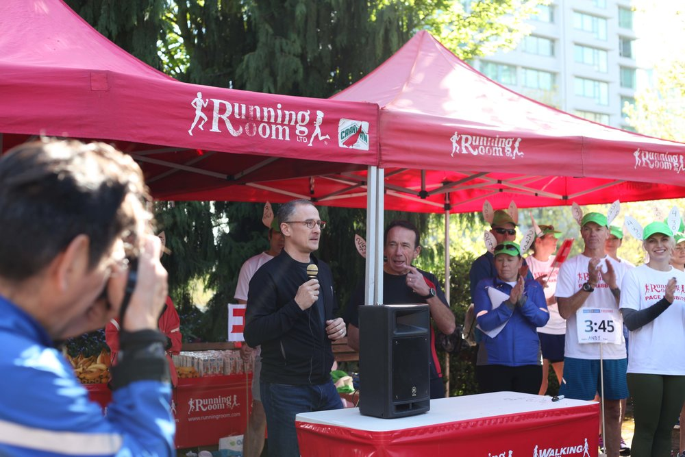 Graham White - Executive Director of Vancouver International Marathon Society
