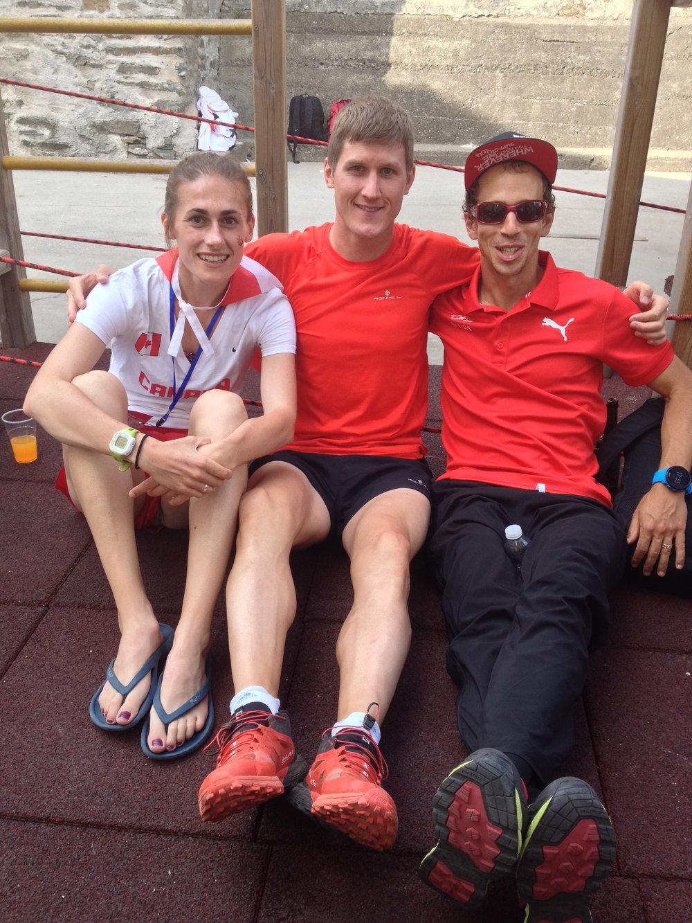 Adele Blaise-Sohnius, Matt Setlack and Francois Leboeuf