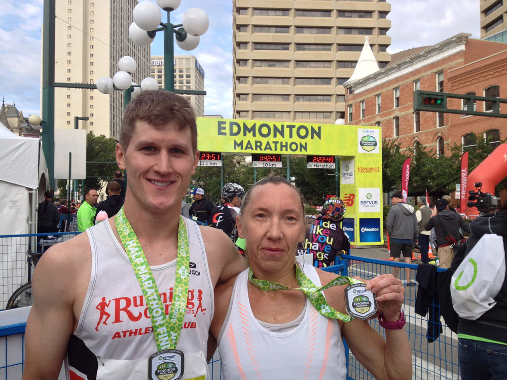 Matt Setlack and Lioudmila Kortchaguina (2nd female ovrl)