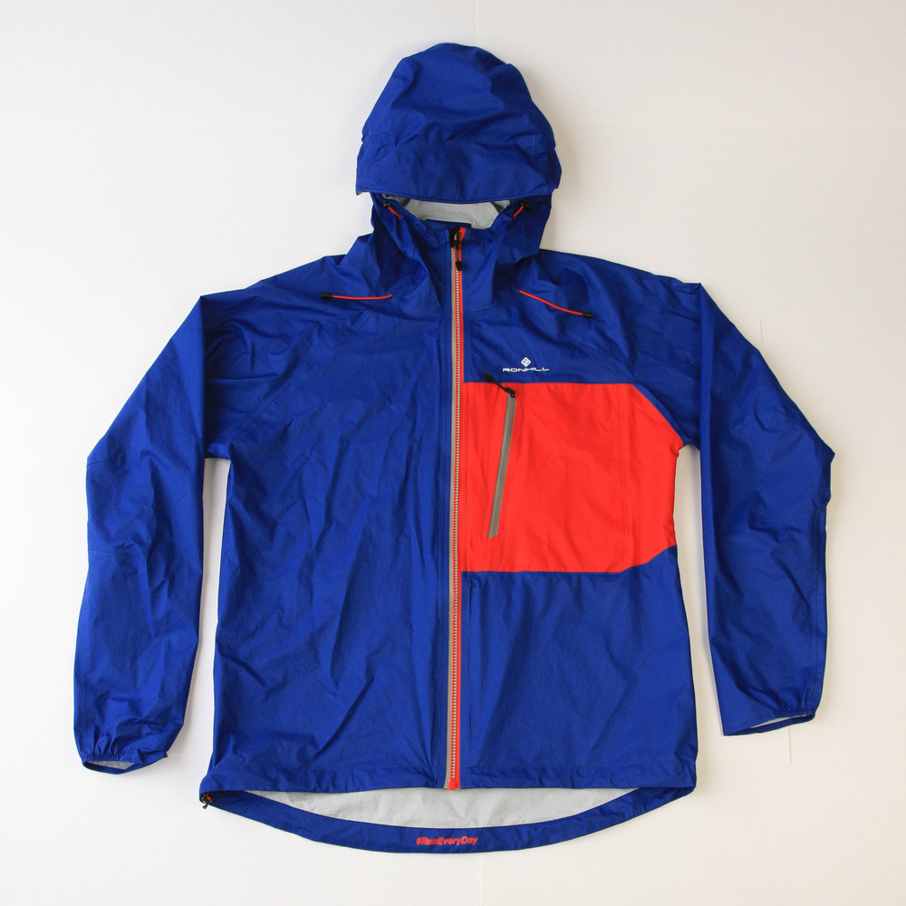 Front view of Ronhill Infinity Torrent jacket