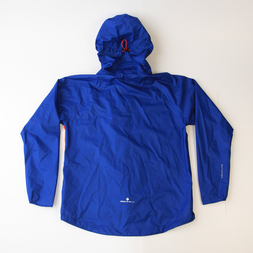 Back view of Ronhill Infinity Torrent jacket