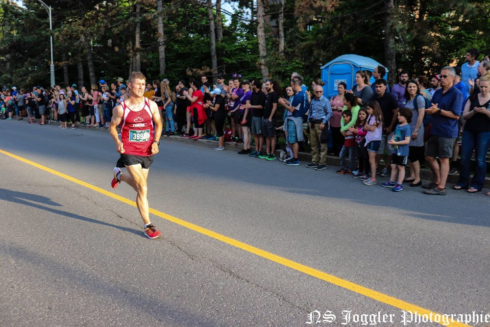 Just before the finish line. Photo by Michael-Lucien Bergeron.