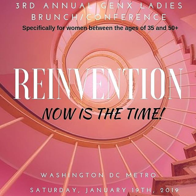If you are a lady between the ages of 35 and 50+. It's that time of the year again. Please follow @genxladies to stay informed and get updates about this amazing event created just for you. ▫️ Out of the few passion projects, business or initiatives I run, this right here is one that I'm 100% sure is one of the  assignments I've been given during this season. The GENX LADIES initiative for women between the ages of 35 and 50+. ▫️ This started in 2016 with a candlelight dinner with about 41 ladies in attendance mainly to engage in conversations centered around reigniting forgotten dreams, bouncing back after a setback from life, career growth in your 40s, health and body changes as we increase in age. ▫️ I had no idea then it will  grow so fast to serving over 100 women in our community through our annual brunch in Jan, workshops, social and networking events throughout the year, being on a few TV media outlets sharing the vision.  I can go on and on about this but I'll make it short and simple. Feel free to visit www.genxladies.com for more information. ▫️ It's that time of the year for our Annual GENX LADIES BRUNCH/CONFERENCE here in the Washington DC metro area. The theme this year is 'Reinvention'. The time is NOW. Listen, Reinvention is not creating something new but about unlearning to relearn, finding yourself, going back to the original intention. ▫️ If you are a woman between the ages of 35 and 50, you do not want to miss this year's event for anything. I won't go into too much details yet but this will transform you like never before and I'm someone who choose my words carefully. ▫️ I'm also clear that this is not going to be for everyone just because you are a lady and within the target demography. But if you're ready to live the next phase of your life with intention,  you're ready to pursue and attain that business or career goal, health, relationships etc. You want to network and build relationships with like minded individuals. You want to be in the room.  To grab the early bird tickets, click the link in @genxladies bio or visit https://annualgenxladies3.eventbrite.com