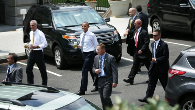 Secret Service protecting President Obama - The Hill
