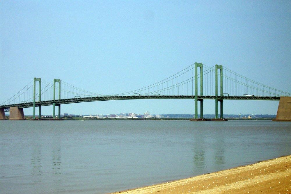 Delaware_Memorial_Bridge_From_NJ_Side