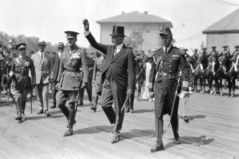President Harding in Vancouver. Archives item# Port N1271.06. Photographer: W.J. Moore.