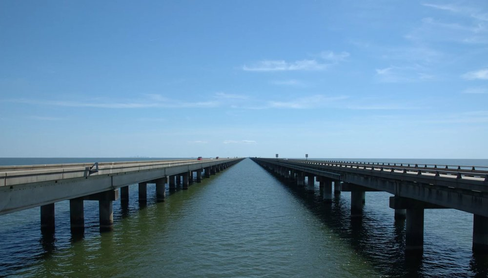 The Lake Pontchartrain Causeway is the world - Credit: Gary Fowler | Shutterstock