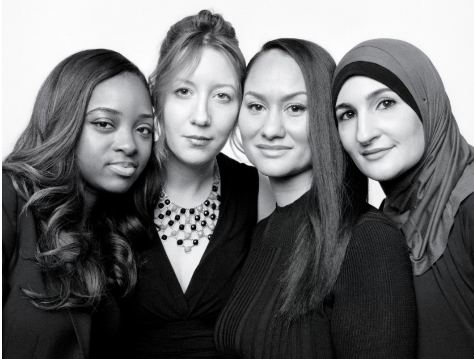 Let's give credit where credit is due: Women's March organizers Tamika Mallory, Bob Bland, Carmen Perez, and Linda Sarsour