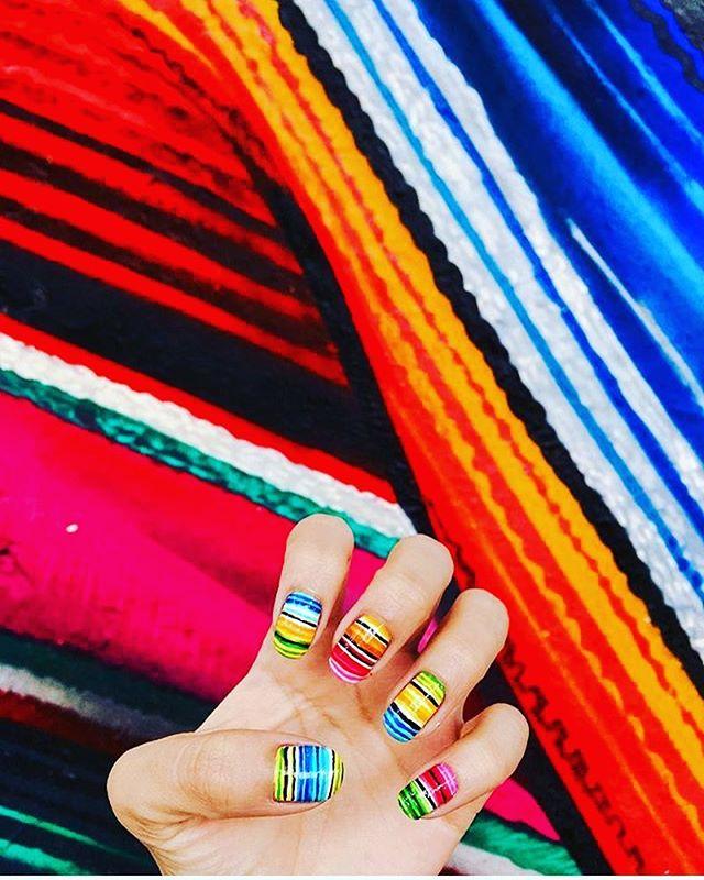 Sarape vibes! #sarape #mexico #design #mexicanfashion #color #mexicaninspiration