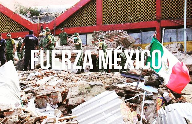 So sad after what happened in Mexico. If anyone is able to, please make donations to the rescue team of Topos directly to: www.topos.mx  Paypal:  donativos@brigada-rescate-topos.org  http://themexicoreport.com/2017/09/12/mexico-earthquake-relief-efforts-and-links-to-donate/