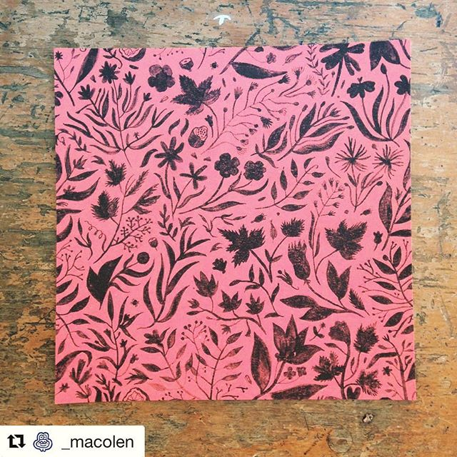 Monday Inspiration from @_macolen #mexicanprint #graphicdesign #mexicanpink #design #print